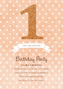 glitter-one-invitations-by Claudia Owen