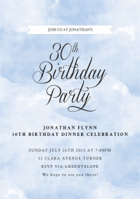 happy-30th-invitations-by Claudia Owen