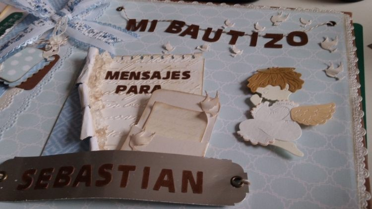 Album libro de firmas bautizo primera comunion 4