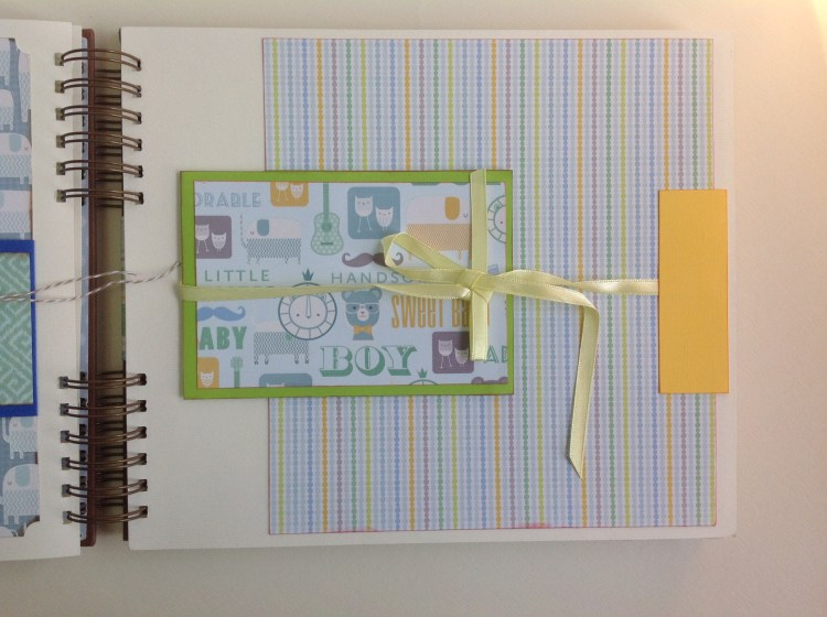 Album scrapbook para baby shower o bebe (17)