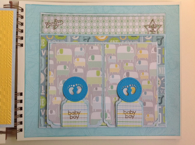 Album scrapbook para baby shower o bebe (27)