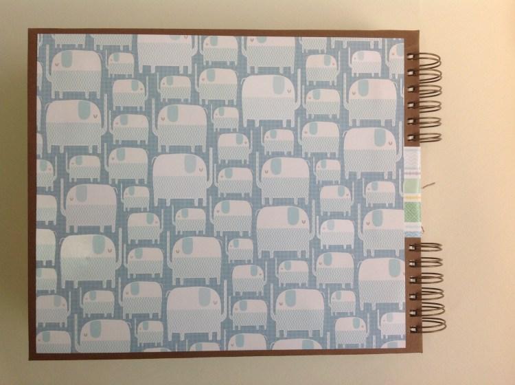 Album scrapbook para baby shower o bebe (33)
