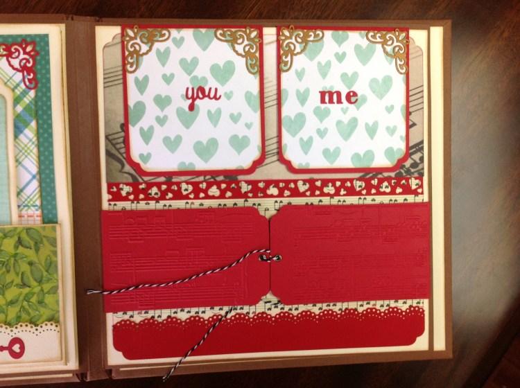 album scrapbook you and me (9)