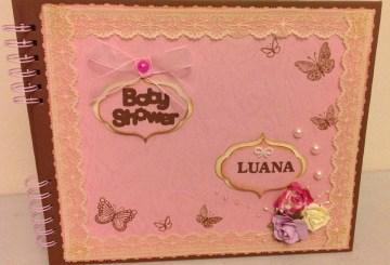 Mis tarjetas scrapbook para cumplea os de hombre claudia for Novedades para baby shower