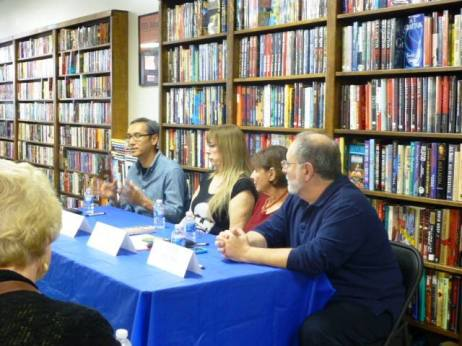 The panel at Book Carnival