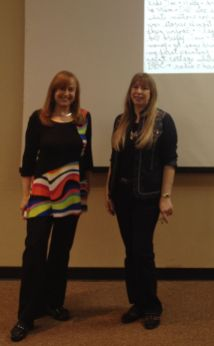 Lena Rivkin and Sheila at Simi Valley Library