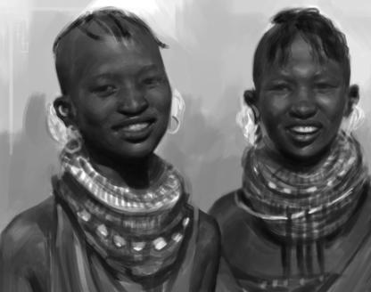 African Tribe Women