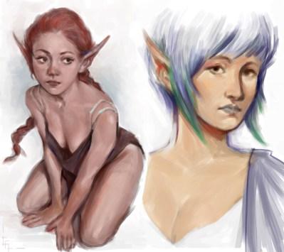Elven Ladies