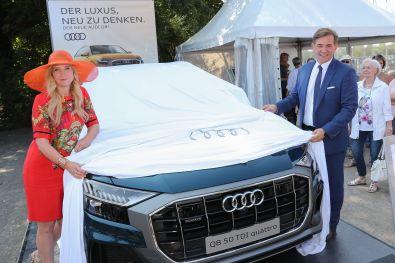 Jette Joop enthüllt Audi Q8