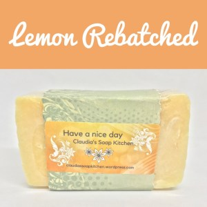 Lemon rebatch Soap Bar