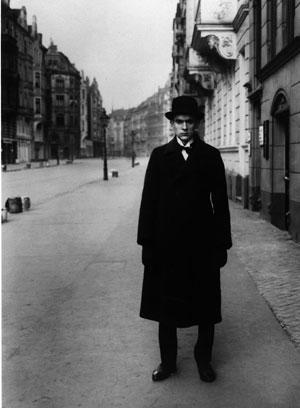 August Sander, l'artista