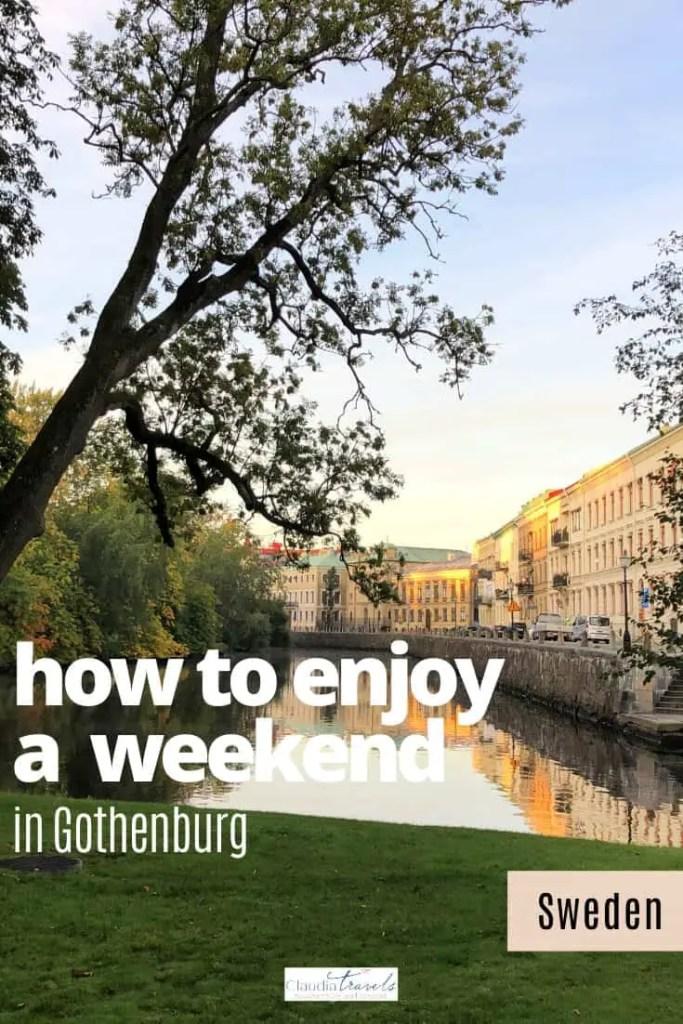weekend in gothenburg sweden