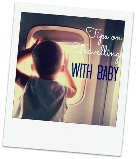 Travelling with baby on a plane can be overwhelming. These tips will help you prepare for flights with your little one in style.