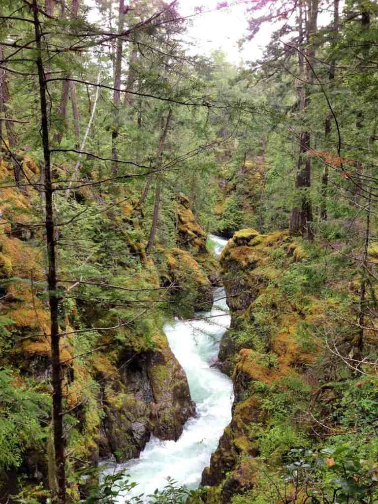 englishman river falls in parksville