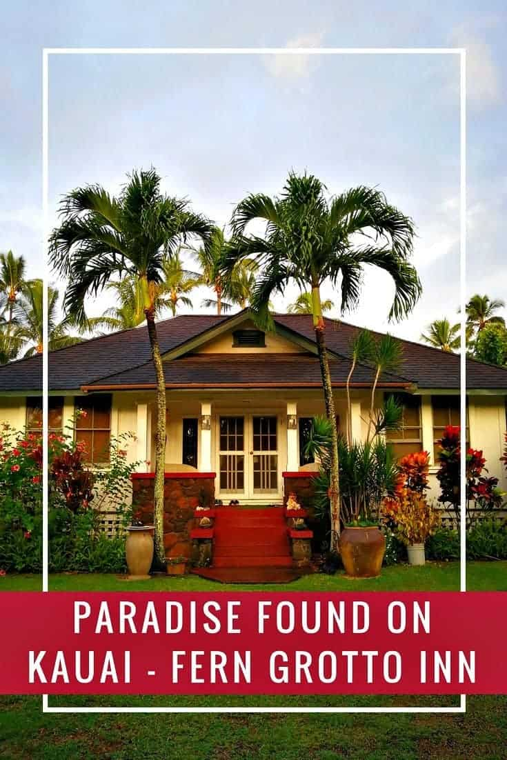 A trip to Kauai, the Garden Island makes for a perfect tropical family holiday. Stay off the beaten path at the Fern Grotto Inn in Wailua.