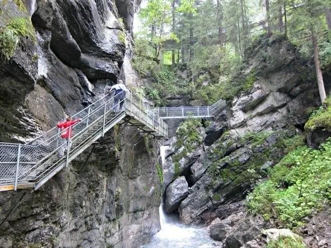 choleren gorge walkway adelboden