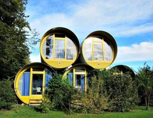 There are many kinds of unusual accommodation to choose from if you're looking to sleep outside the usual hotel box. We loved the Swiss Tube Hotel in Thun. (via thetravellingmom.ca)