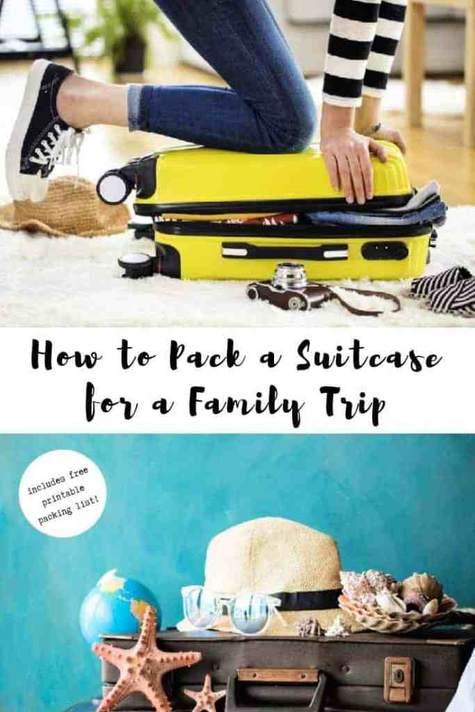 lady packing a suitcase packing tips