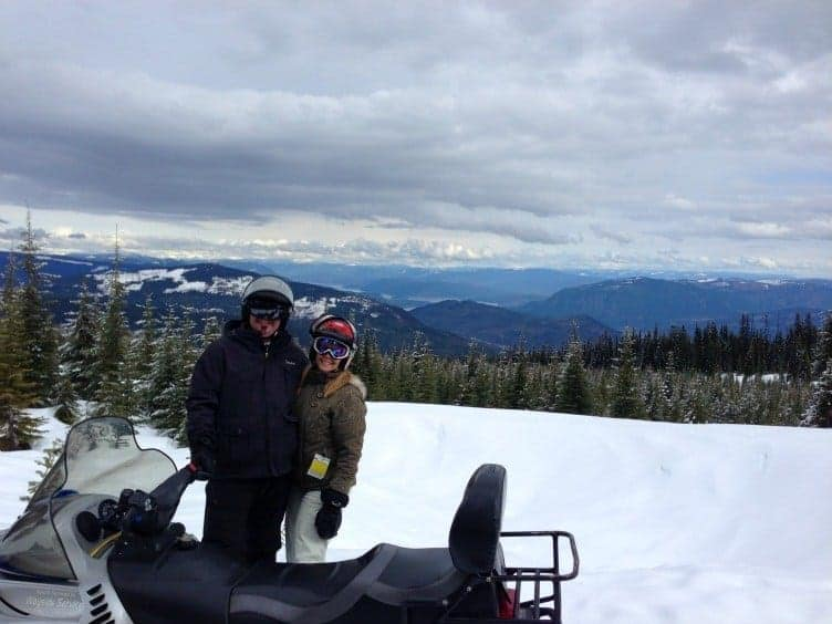 Embrace the spirit of winter adventure by snowmobiling at Sun Peaks Resort in the champagne powder of Canada's second largest ski resort.