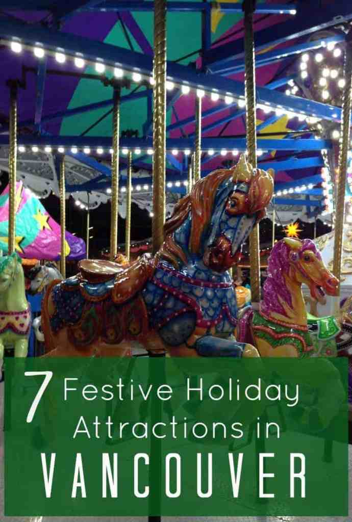 Time to start planning your holiday fun in Vancouver! Check out these 7 fun and festive ways to celebrate Christmas in Vancouver with kids and families. #vancouver #familytravel #christmasinvancouver