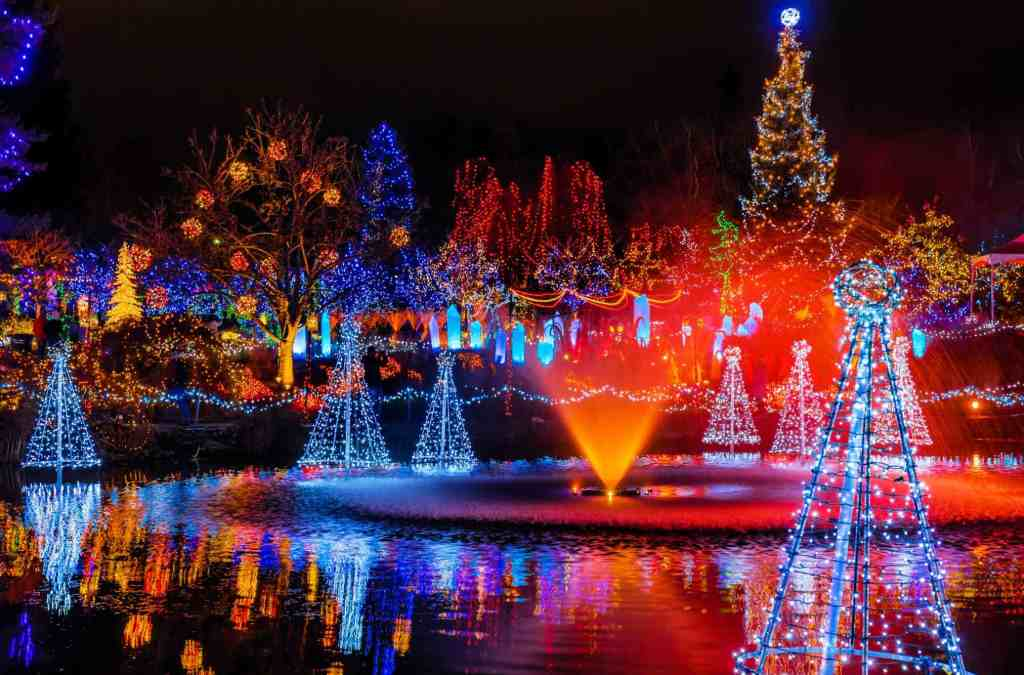 festival of lights christmas in vancouver