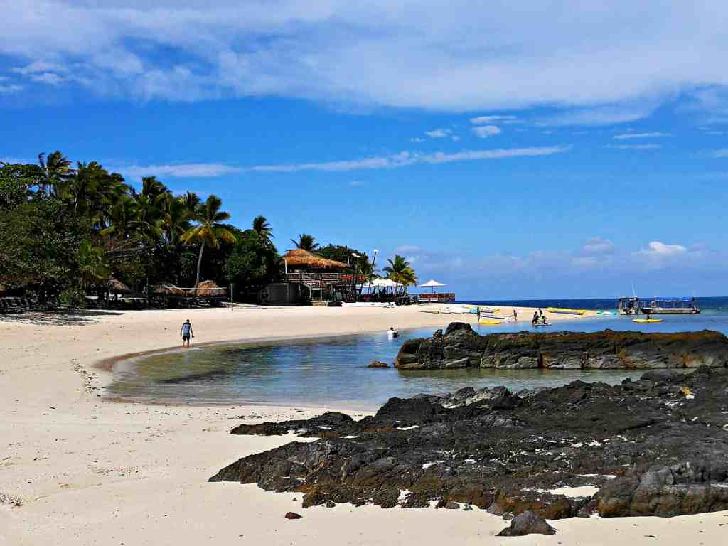 castaway island beach fiji