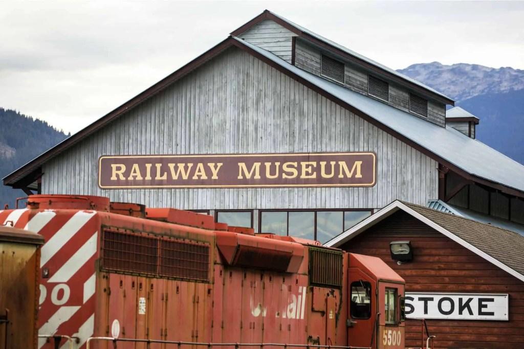 revy railway museum