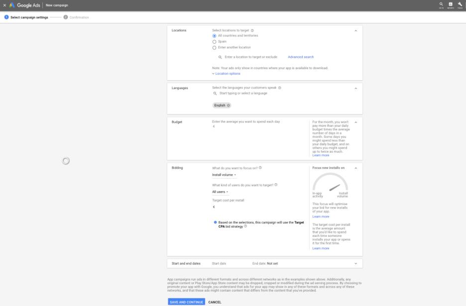 Google Ads SEM for Apps
