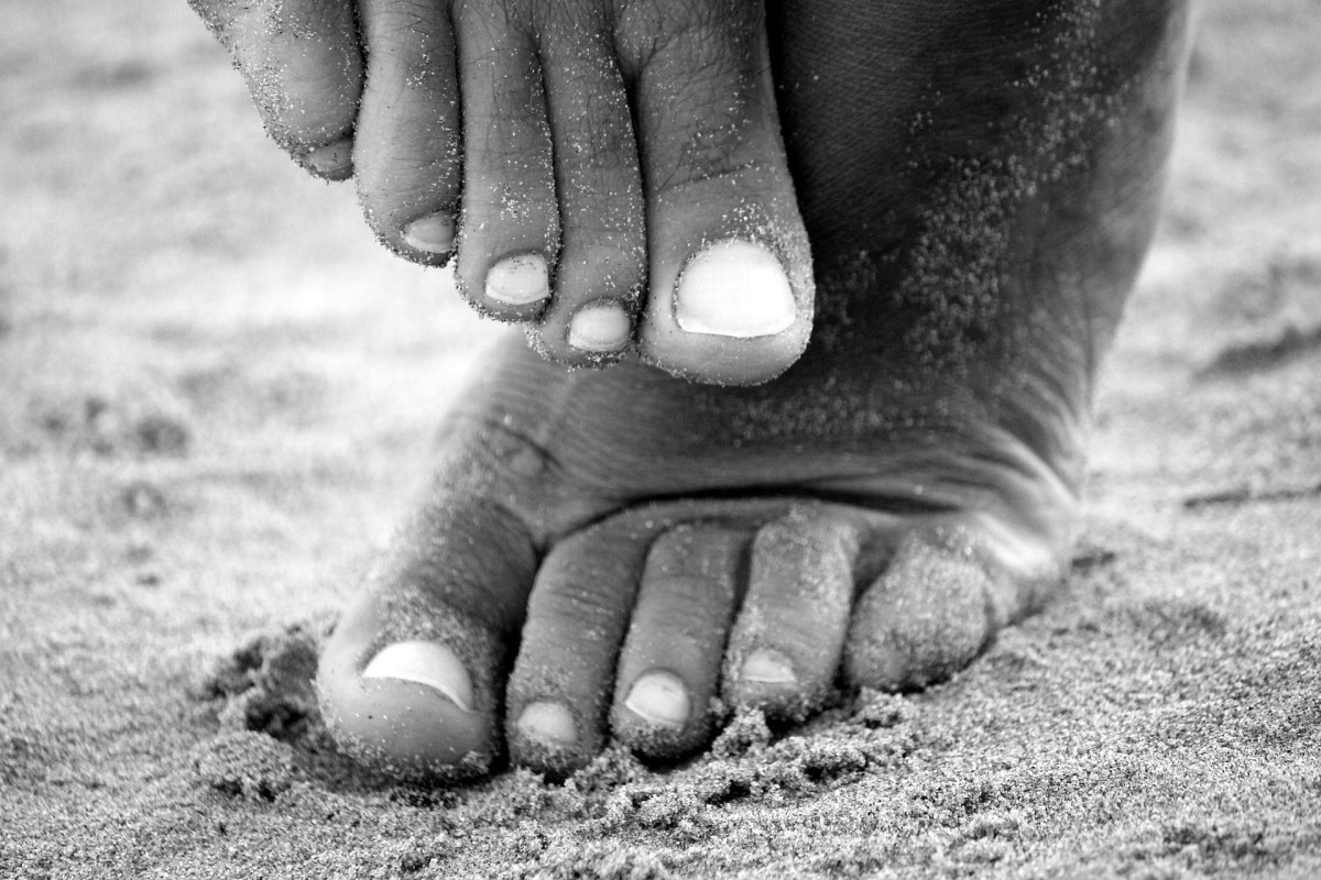 Aroma-Fußpflege für überlastete Füße
