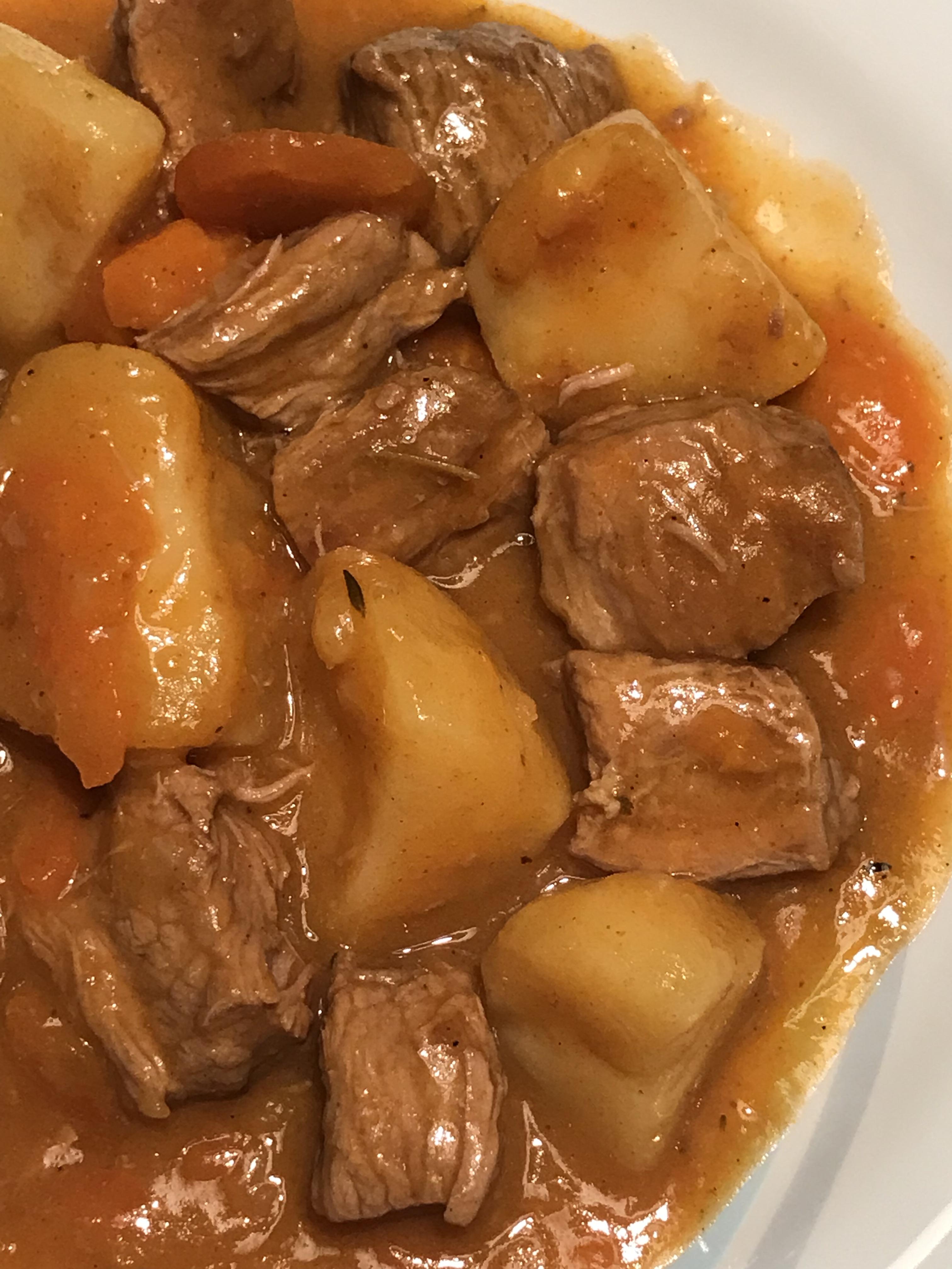 Ragout De Pommes De Terre : ragout, pommes, terre, Ragoût, Boeuf,, Carottes, Pommes, Terre