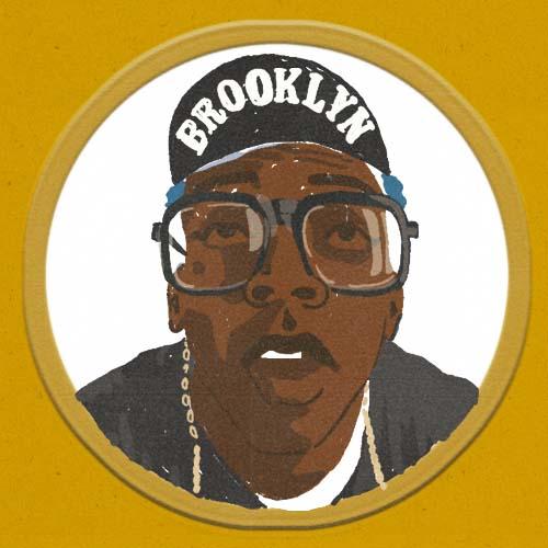 Claudie Linke Illustration_Spike Lee_New York Brooklyn