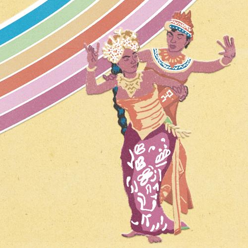 Claudie Linke Balinese Dancers