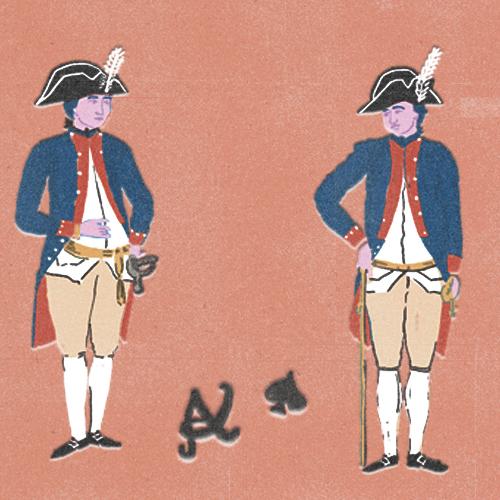 Claudie Linke Illustration_VOC Soldiers