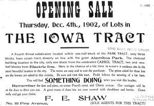 Iowa tract