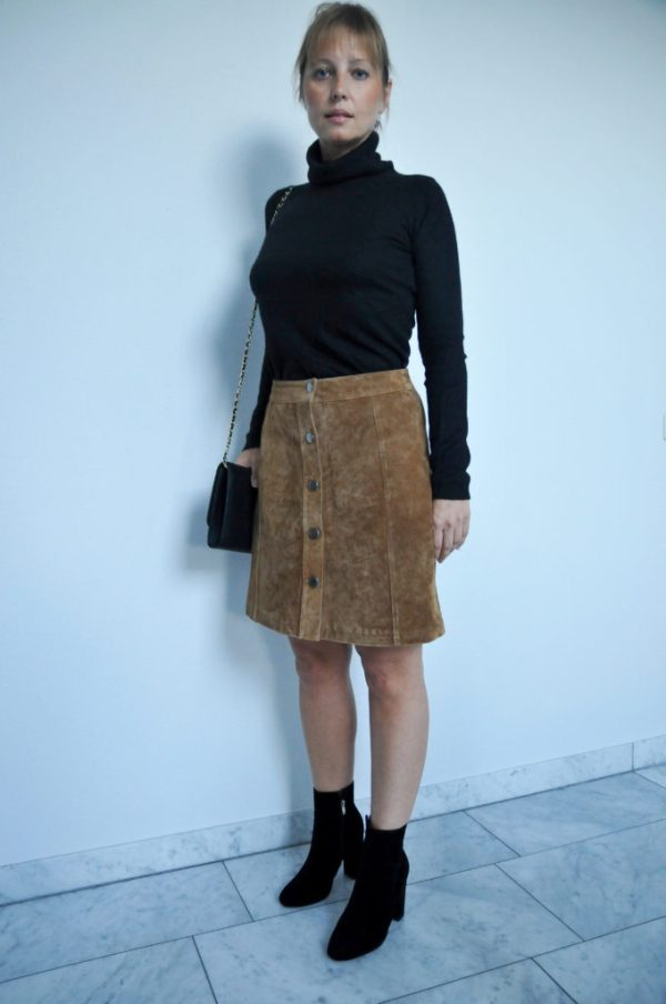 suede skirt claudines room