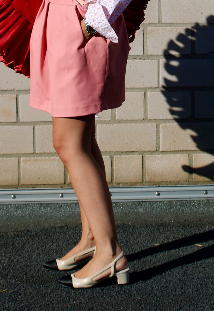 Pink skirt claudinesroom