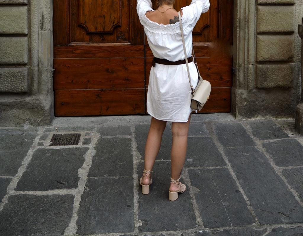 Off-shoulder dress claudinesroom