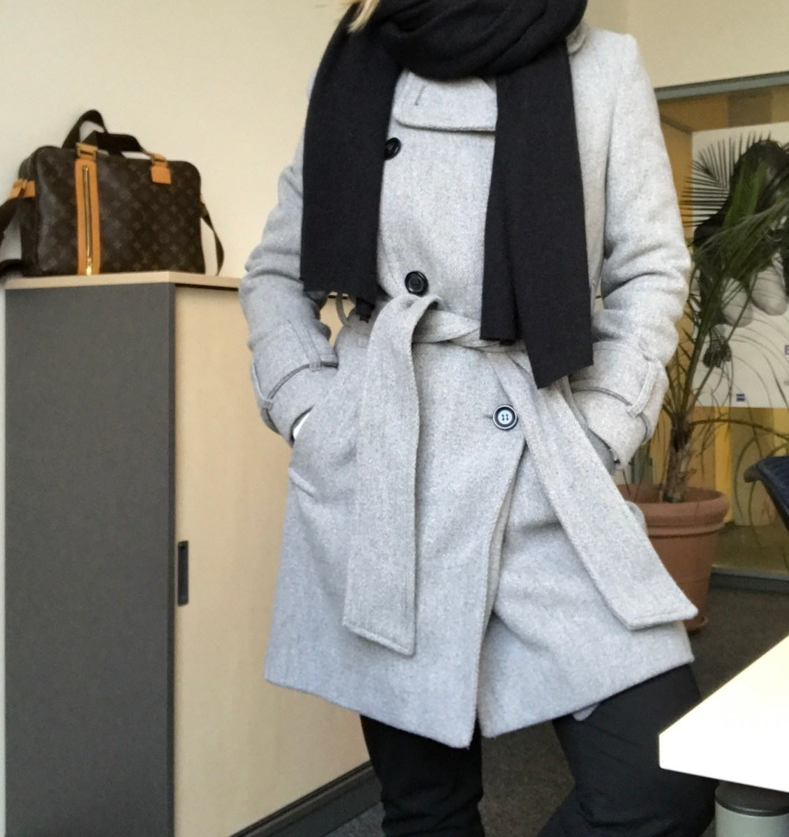 Grey coats - my winter favourites