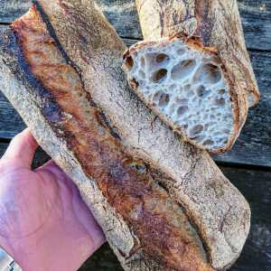 RECIPE & MEDIA: PAN AU LEVAIN (English/German)