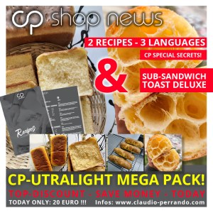 RECIPE & MEDIA:  LIGHT DOUBLE – SUB SANDWICH & TOAST DELUXE (English / Deutsch / Espanol)