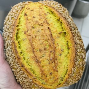 RECIPE & MEDIA: CP-CURCUMA SUNFLOWER COUNTRY BREAD 2020 EDITION (English / Deutsch / Espanol)