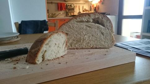 ... croccante fuori, soffice e fragrante dentro. In una parola: l'irresistibile pane appena sfornato!