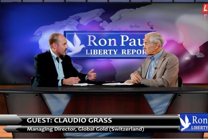 Ron Paul and Claudio Grass – Liberty Report