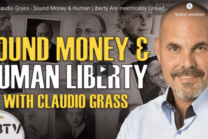 Sound Money & Human Liberty Are Inextricably Linked