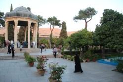 Túmulo de Hafez, um dos principais poetas iranianos
