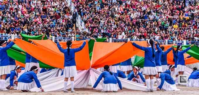 India - West Begal - Darjeeling - Independence Day Celebration-21
