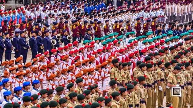 India - West Begal - Darjeeling - Independence Day Celebration-3