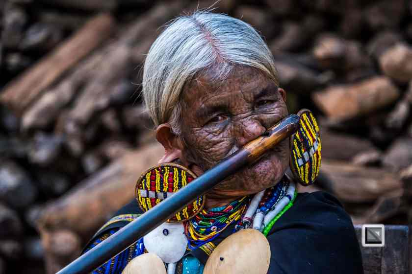 Myanmar Chin Tribe Portraits Color-10