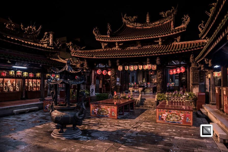 Taiwan Changhua Lukang town during Ghost Month