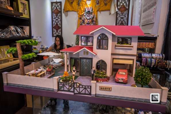 Taiwan lavish paper gifts for the dead